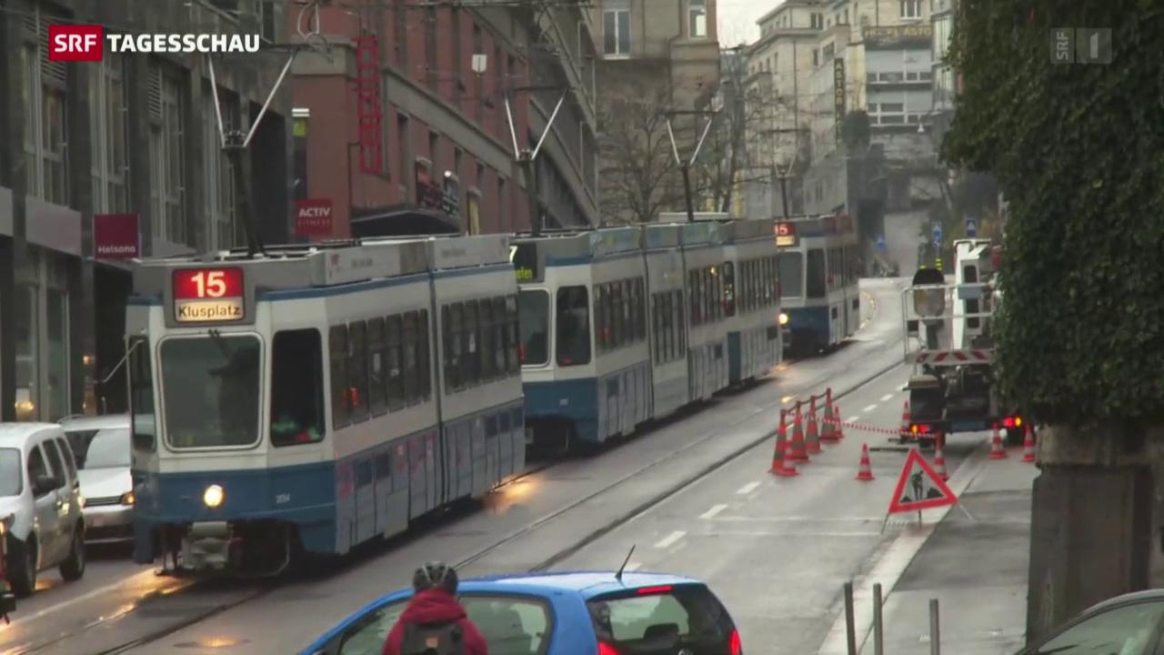 Stromausfall in Zürich