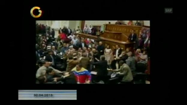 Video «Parlamentarier schlagen sich» abspielen
