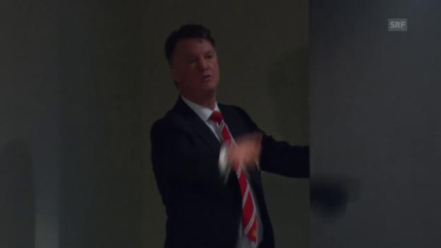 Video «Louis van Gaal attackiert einen Journalisten verbal» abspielen