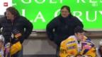Video «Eishockey: Fribourg - Davos» abspielen