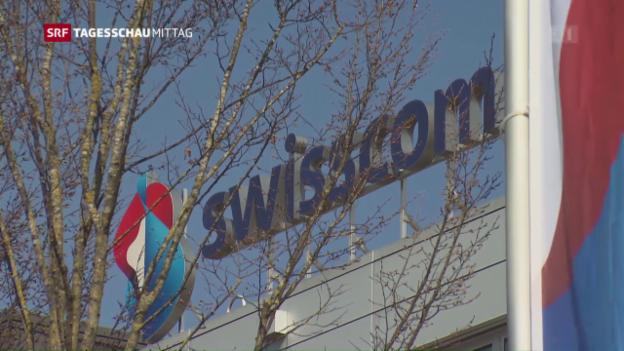 Video «Swisscom: Gewinn trotz hart umkämpftem Markt» abspielen