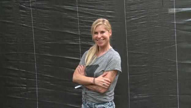 Video «Openair-Serie Teil 5: Denise Biellmann» abspielen
