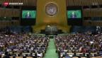 Video «Eröffnung der UNO-Vollversammlung» abspielen