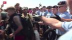 Video «Flüchtlingsroute durch Kroatien» abspielen