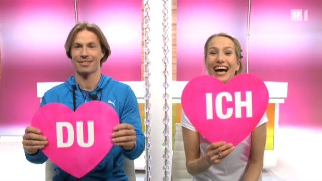 Jacqueline Schneider und Jörg Walcher