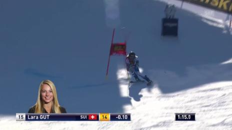 Video «Ski: Fahrt Gut 2. Lauf RS Maribor» abspielen