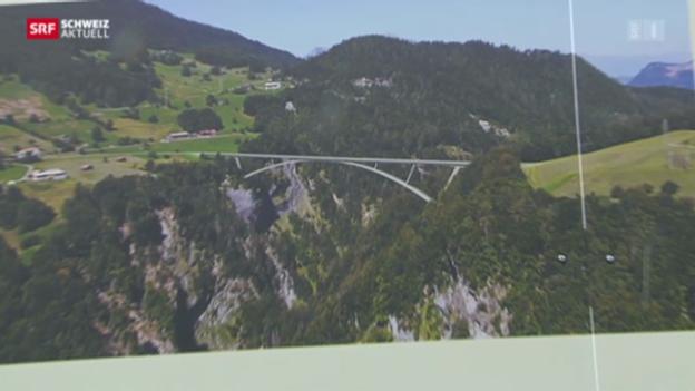 Video «Vorfreude auf Taminabrücke» abspielen