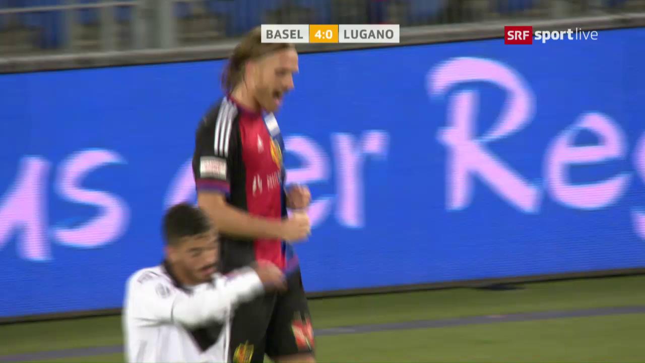 FC Basel lässt Lugano keine Chance