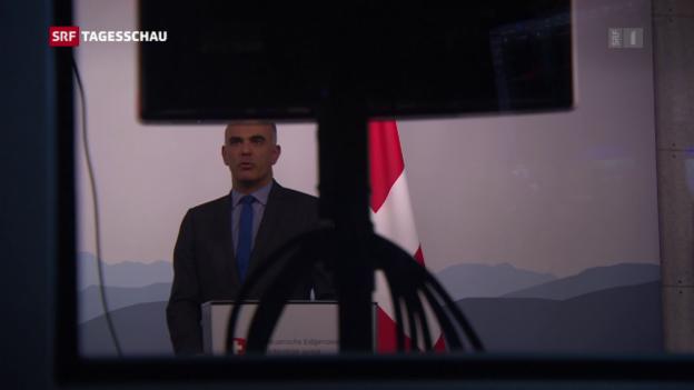 Video «Berset spricht Rätoromanisch» abspielen