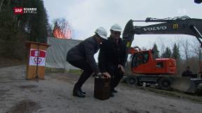 Video «Millionenbauwerk gegen Hochwassergefahr » abspielen
