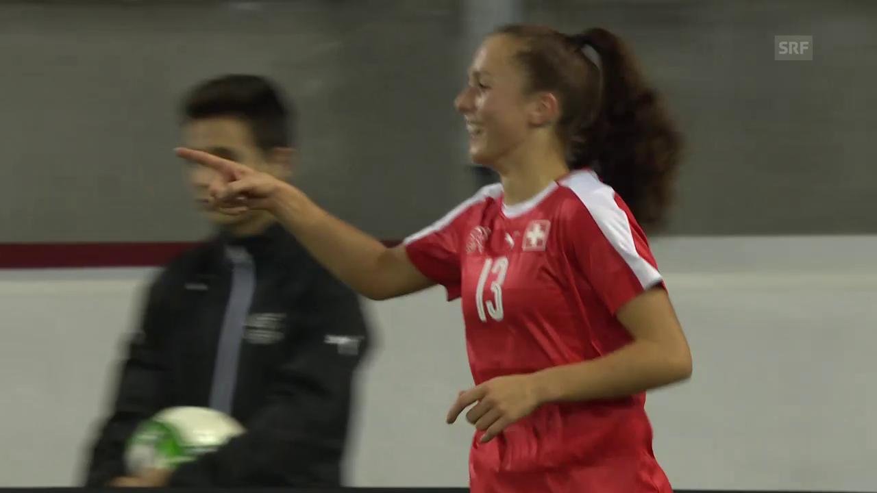 Die 3 Schweizer Tore gegen Weissrussland