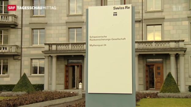 Video «Swiss Re hat Grund zum Feiern» abspielen