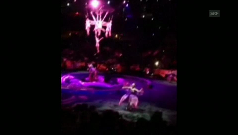 Zirkus: Die Sekunden des Unglücks
