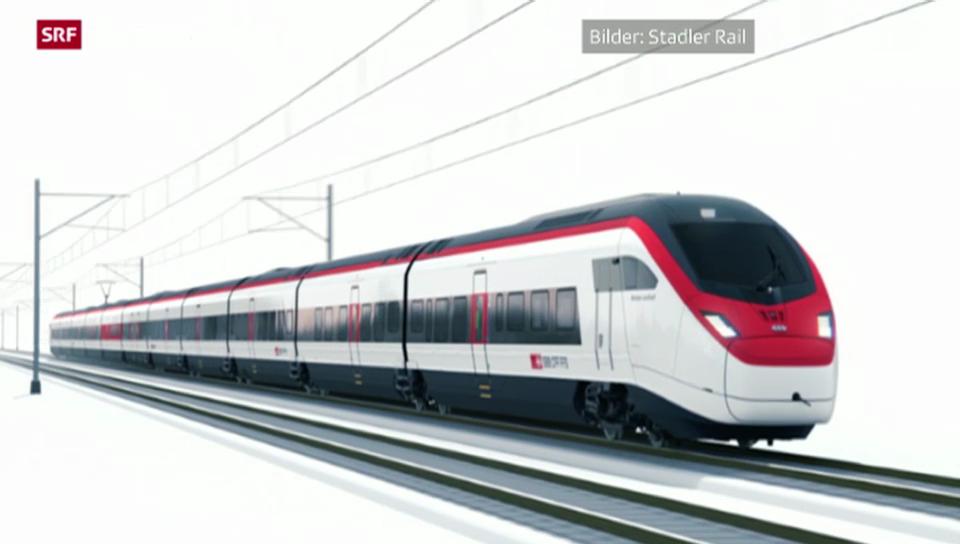 Der neue Neat-Zug auf der Nord-Süd-Achse