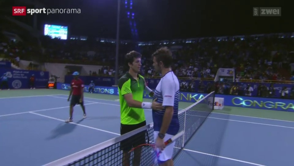 Tennis: ATP-Turnier in Chennai, Final: Wawrinka - Bedene