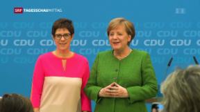 Video «Nach Merkels Personalentscheiden» abspielen