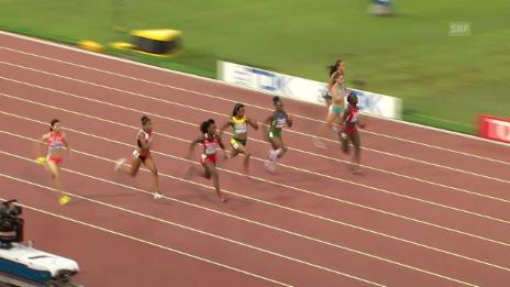 Video «LA-WM: 100m Halbfinal» abspielen