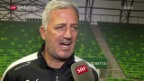 Video «Zuversichtliche Nati vor dem Ungarn-Spiel» abspielen