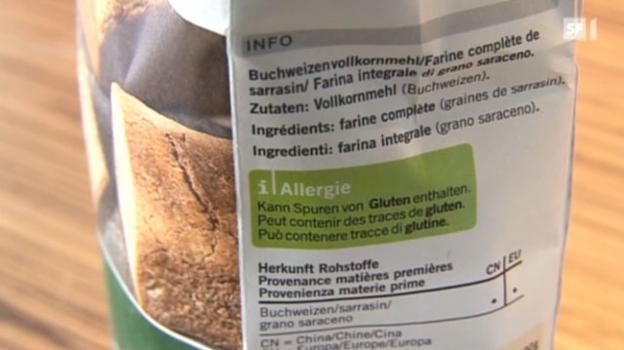 Video «Gluten-Allergie häufig eingebildet» abspielen
