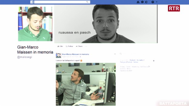 Laschar ir video «Facebook suenter la mort?»