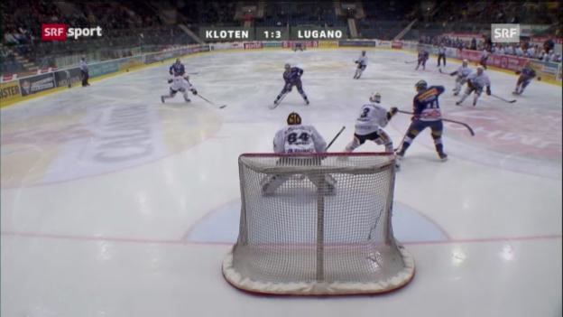 Video «Kloten - Lugano» abspielen