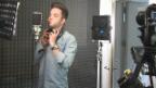 Video «Luca Hänni beim Trailer-Dreh für «Kampf der Orchester»» abspielen
