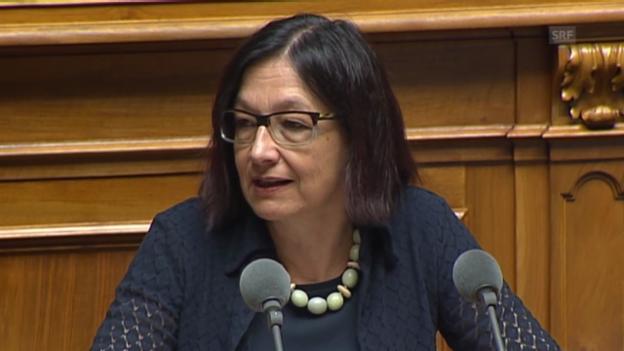 Video «Gilli: «Internationale Forschung ist eine Kernaufgabe»» abspielen