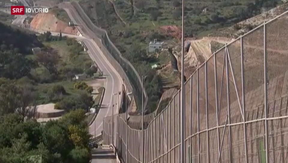 Gefährliche Grenze zur EU
