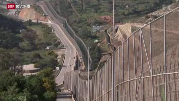 Video «Gefährliche Grenze zur EU» abspielen
