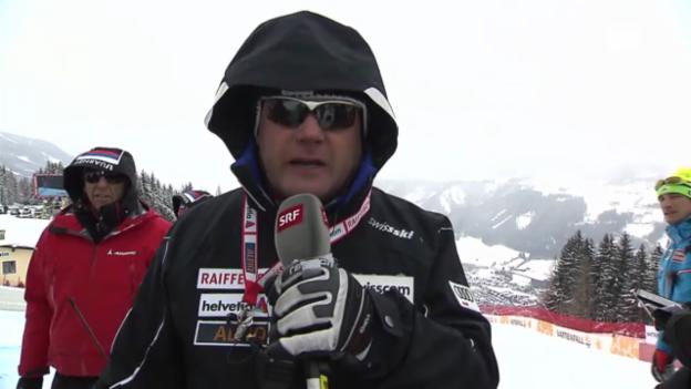 Video «WM-Abfahrt: Interview Osi Inglin» abspielen
