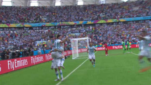 Video «FIFA WM 2014: Argentiniens Weg in den Final» abspielen