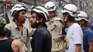 Video «Fokus: Zivilisten sterben nach Bombardierung in Aleppo» abspielen