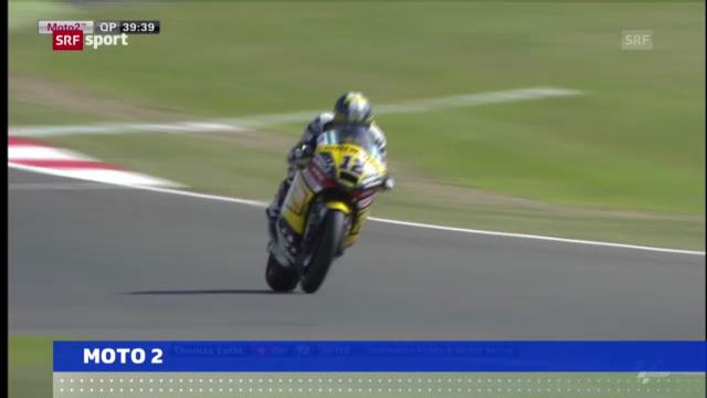 Motorrad: Qualifying GP Grossbritannien («sportaktuell»)