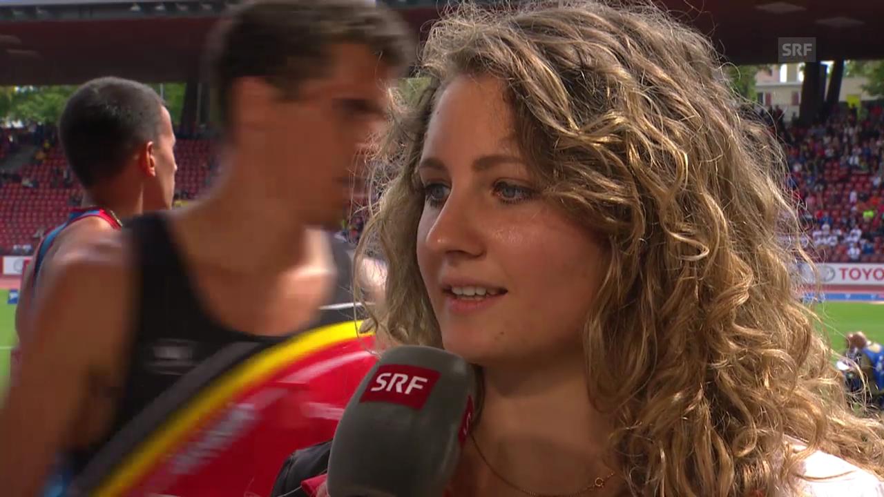 Leichtathletik: Interview mit Anna Katharina Schmid