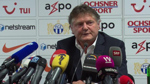 Video «Fussball: FCZ-Medienkonferenz mit Ancillo Canepa» abspielen