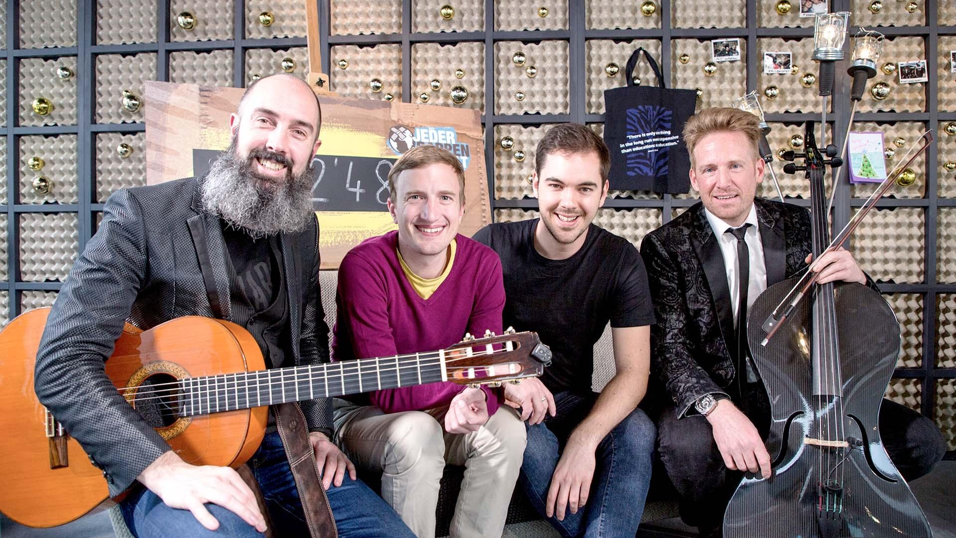 Mozart Heroes live in der Glasbox: «Nothing Else Matters»
