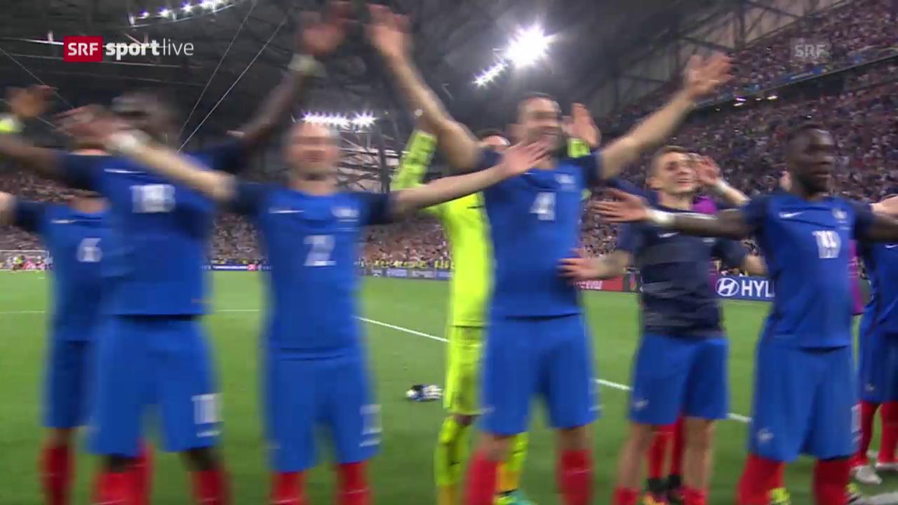 Was aussieht wie Island – ist Frankreich am Feiern