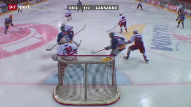 Video «NLA: Biel - Lausanne» abspielen