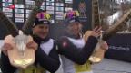 Video «Über 14000 Läufer am Engadiner Skimarathon» abspielen