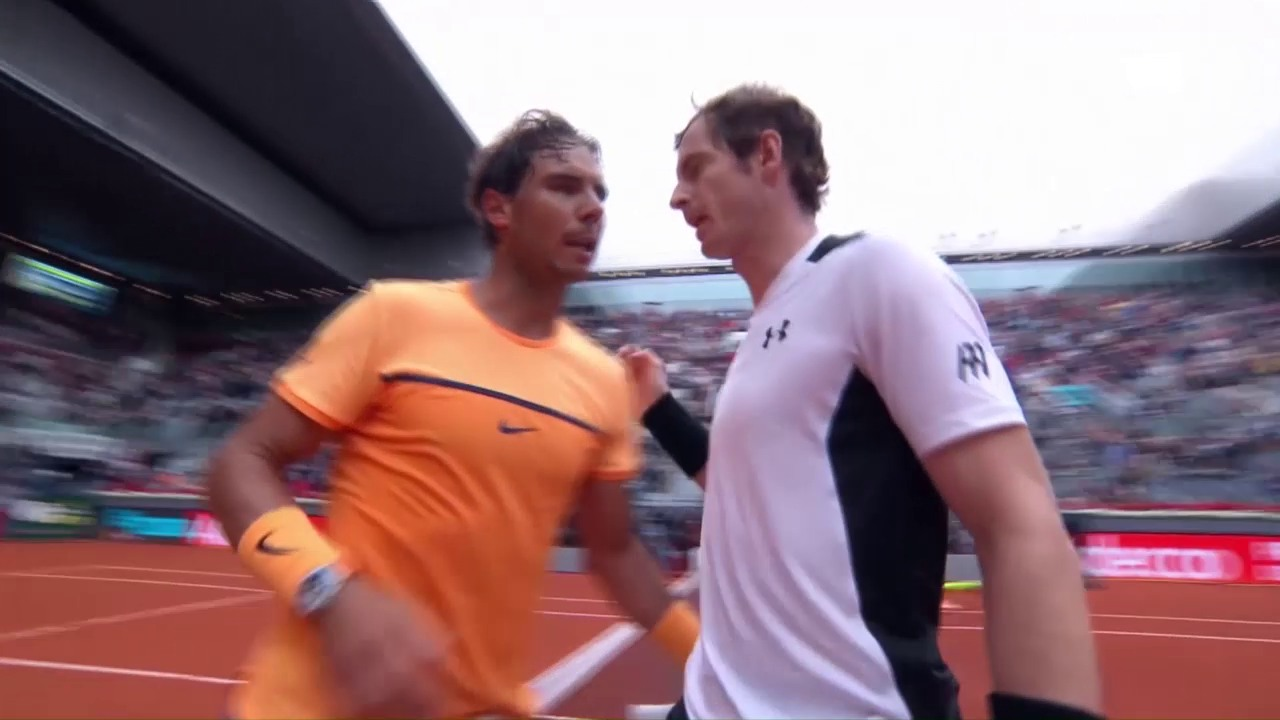 Entscheidende Bälle bei Murray - Nadal