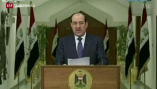Video «Maliki klammert sich an Macht» abspielen