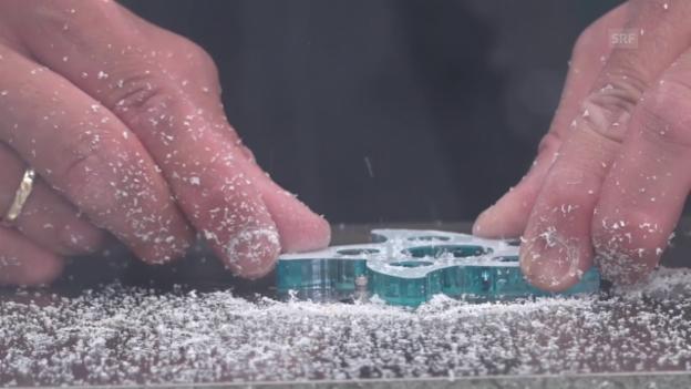 Video «Trendige Handkreisel aus Biel» abspielen
