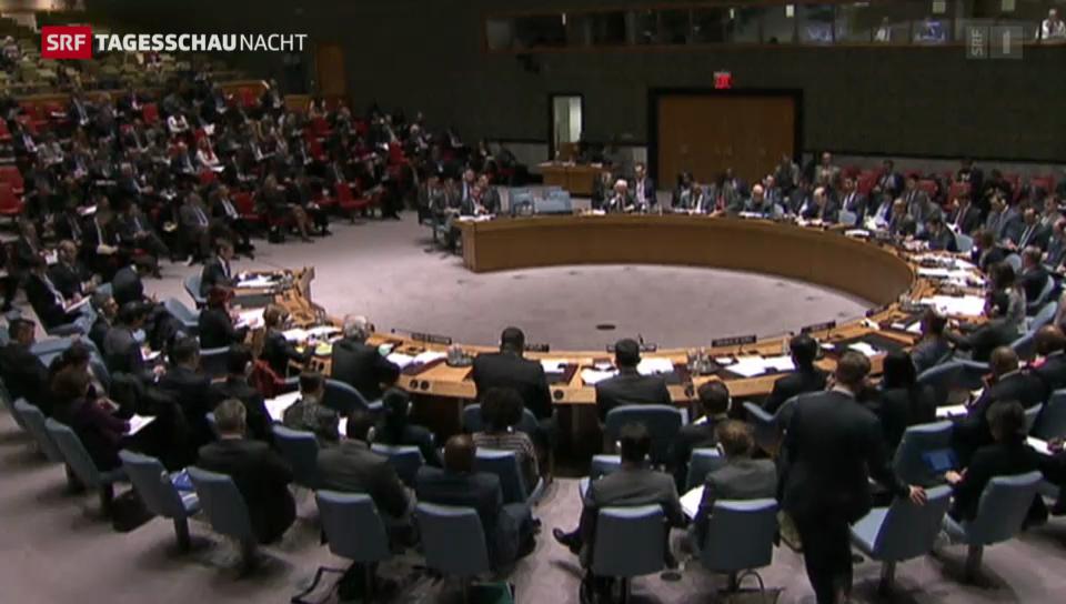 Krim-Krise erneut Thema im UNO-Sicherheitsrat