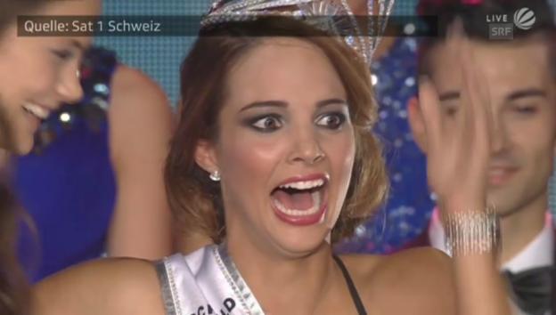 Video «Laetitia Guarino gewinnt den Miss-Schweiz-Titel» abspielen