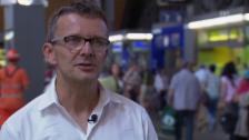 Video «Beat Hürzeler zur Verflüssigung der Personenströme» abspielen