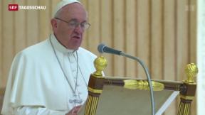 Video «Synode: Bischöfe bleiben in Familienfragen vage » abspielen