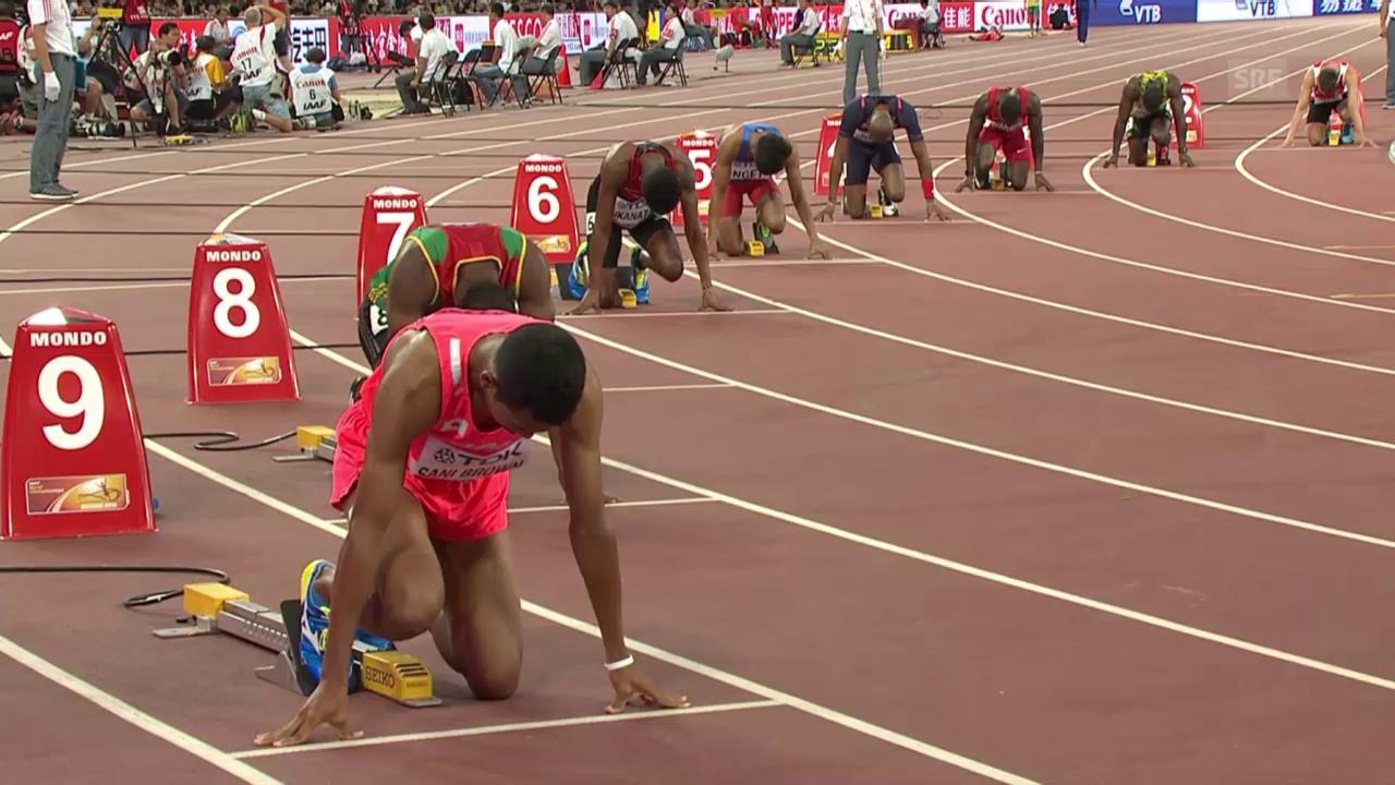 LA: Vorlauf 200 m, Justin Gatlin