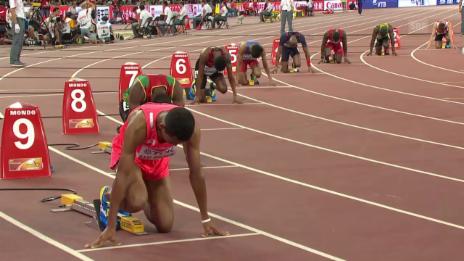 Video «LA: Vorlauf 200 m, Justin Gatlin» abspielen