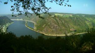 Link öffnet eine Lightbox. Video Der Rhein - Von den Burgen in die Berge abspielen.