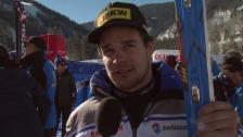 Video «Ski: Abfahrtstraining Beaver Creek, Interview Patrick Küng» abspielen